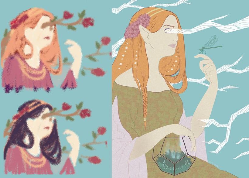 Fantasy girl GIF 1