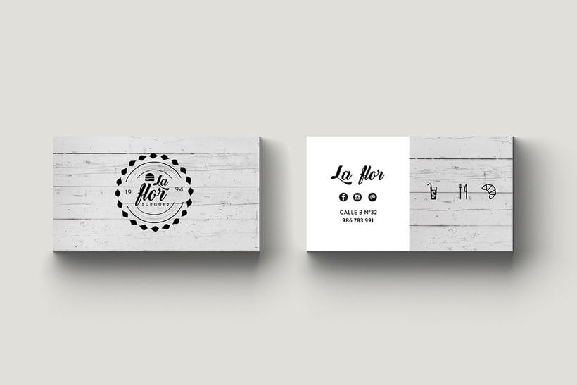 LA FLOR || branding 0