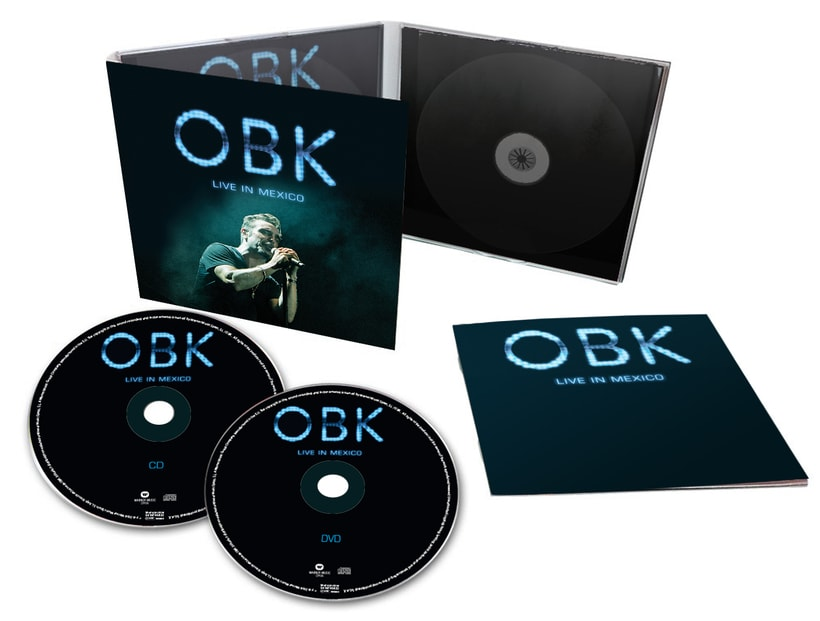 OBK Live in Mexico Digipack 0