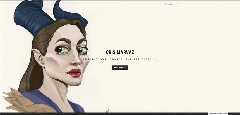 Mi Proyecto del curso: CrisMarVaz art -portfolio de artista- -1