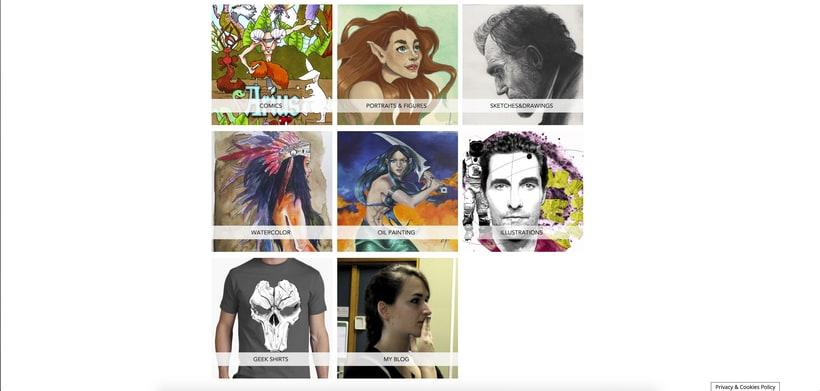 Mi Proyecto del curso: CrisMarVaz art -portfolio de artista- 1
