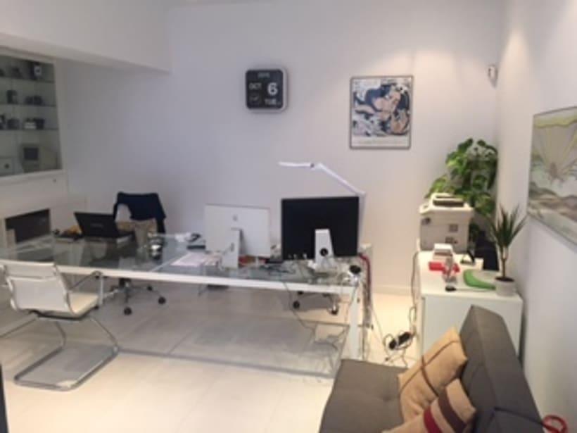 Compartimos espacio de co-working en zona El Viso-Ppe de Vergara 1