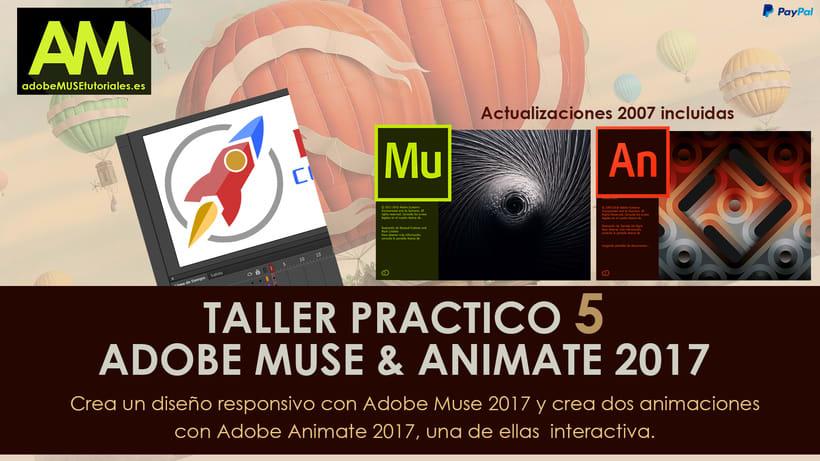 TALLER 5 ADOBE MUSE & ADOBE ANIMATE 2017 0