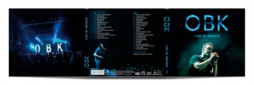 OBK Live in Mexico Digipack 1