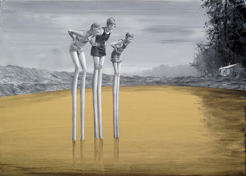 Las fotografías pintadas que son pinturas de Paco Pomet 5
