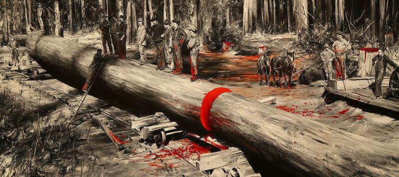 Las fotografías pintadas que son pinturas de Paco Pomet 11