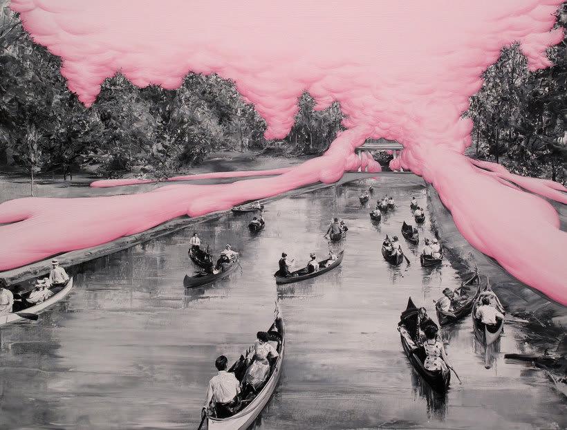 Las fotografías pintadas que son pinturas de Paco Pomet 14