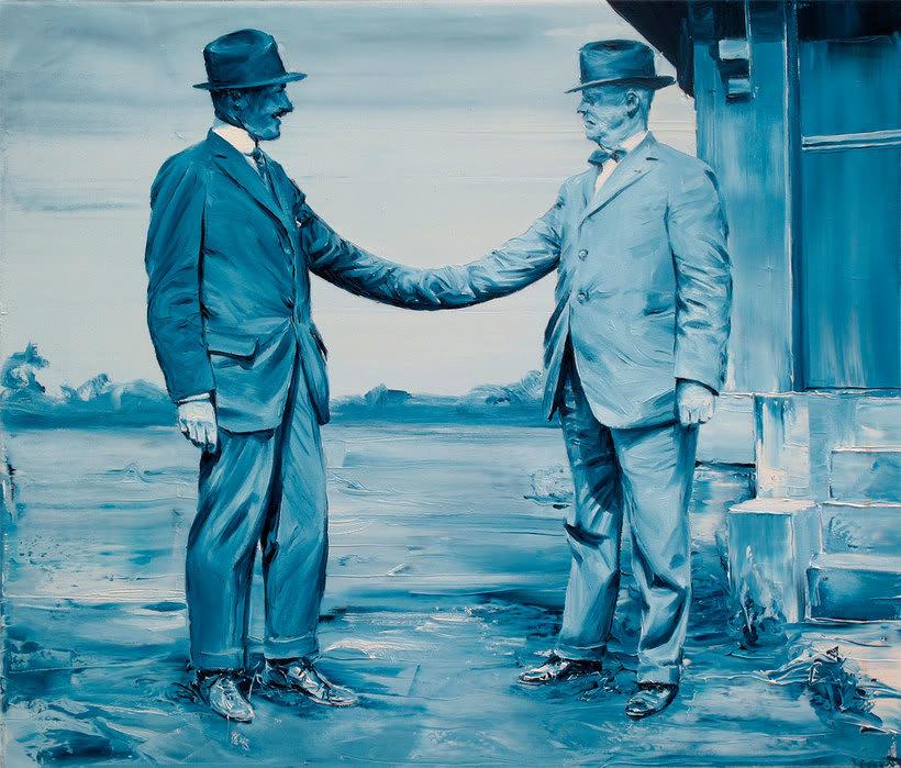 Las fotografías pintadas que son pinturas de Paco Pomet 15