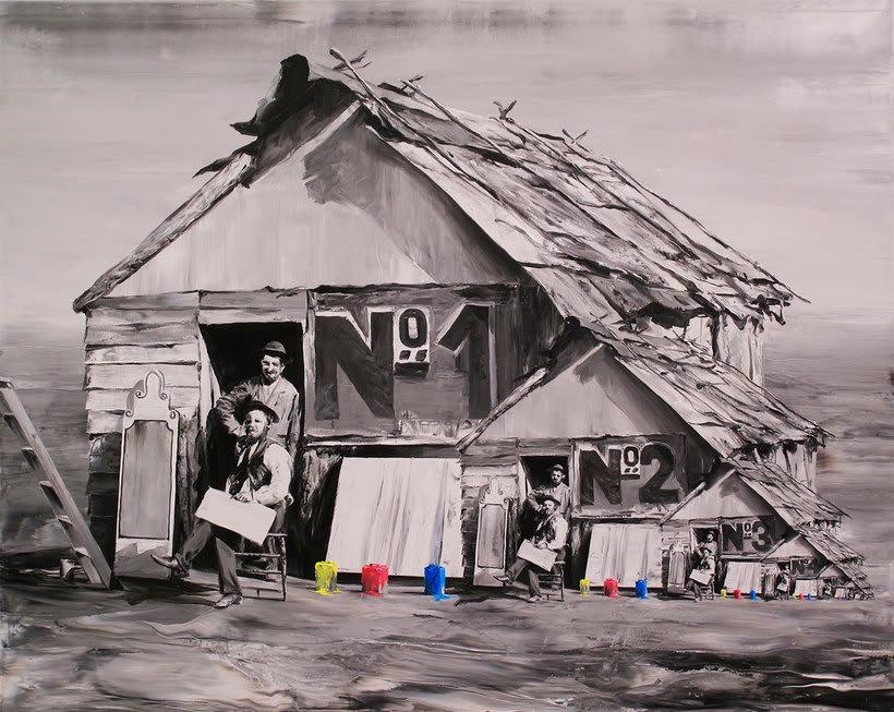 Las fotografías pintadas que son pinturas de Paco Pomet 19