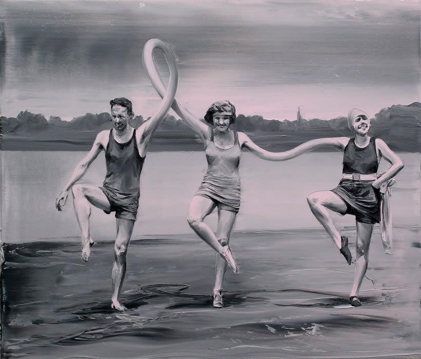Las fotografías pintadas que son pinturas de Paco Pomet 20