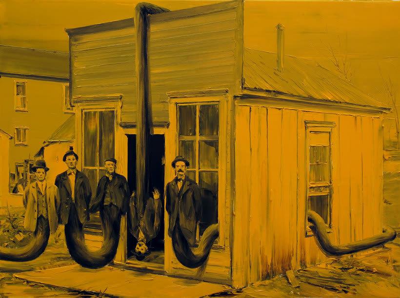 Las fotografías pintadas que son pinturas de Paco Pomet 22