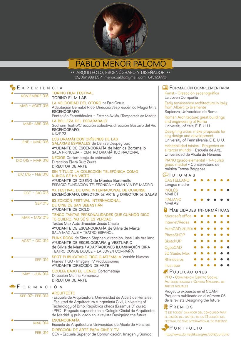 PORTFOLIO ESCENOGRAFÍA / DIRECCIÓN DE ARTE 3