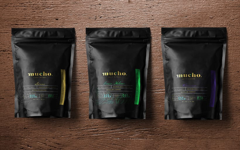 Mucho. Coffee Blends 4