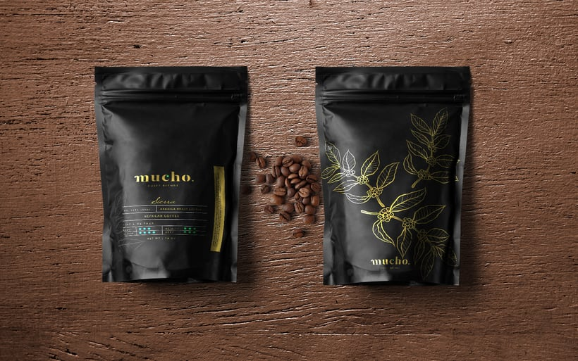 Mucho. Coffee Blends 5