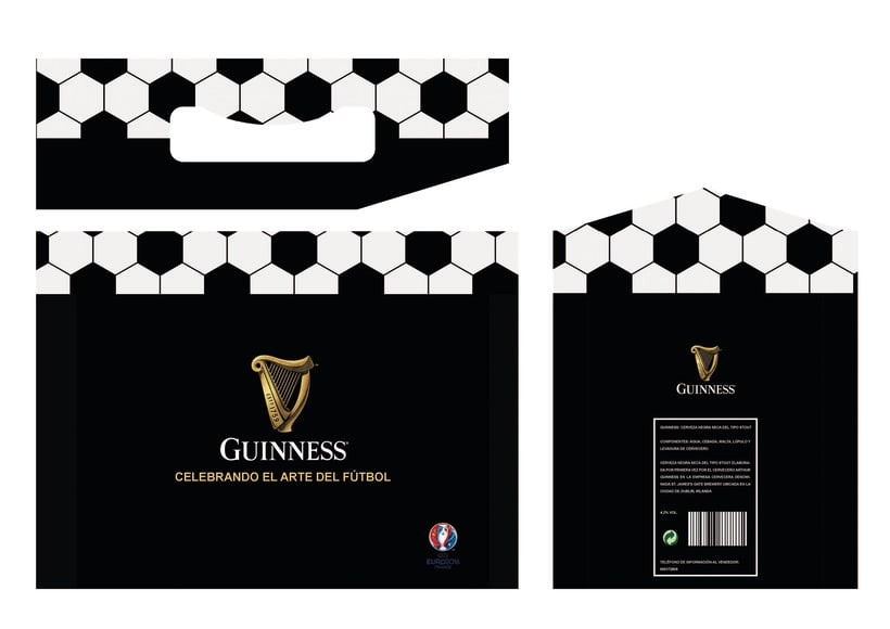Packaging especial para Guinness para la UEFA -1