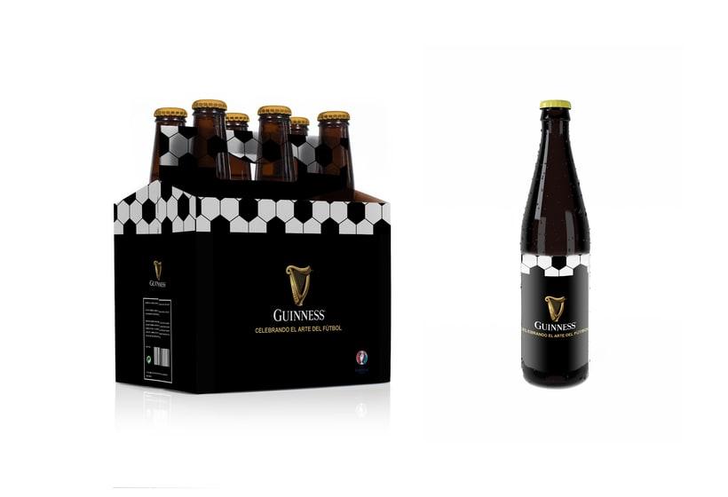 Packaging especial para Guinness para la UEFA 0