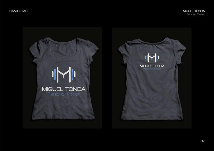 Manual de estilo para Miguel Tonda, personal trainer. 13
