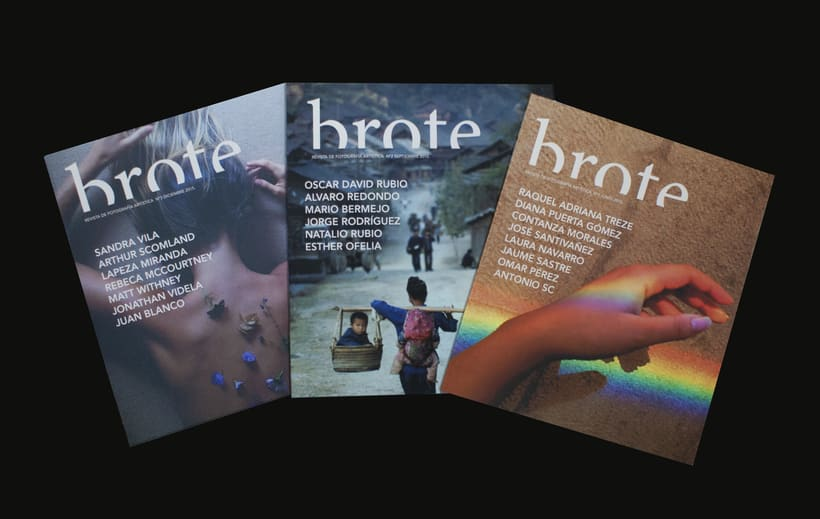 Revista de arte emergente Brote 0