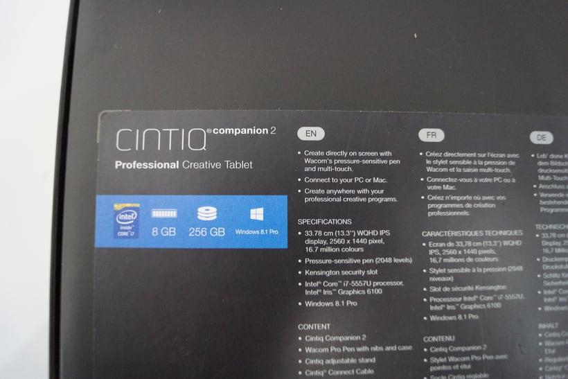 Vendo cintiq companio 2 , 256 GB, i7, 8 GB 3