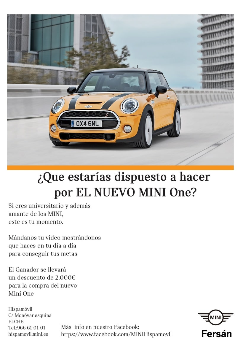 Cartel Whatsapp BMW y cartel MINI  1