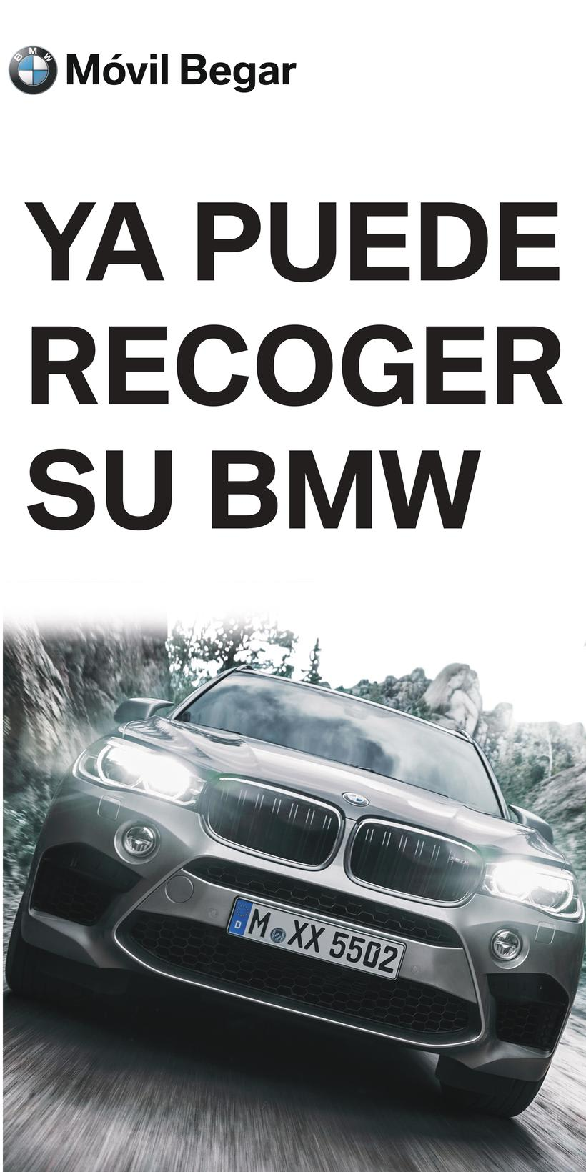 Cartel Whatsapp BMW y cartel MINI  2