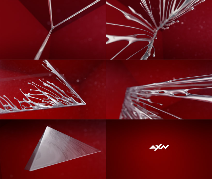 AXN International Rebrand ID's 9