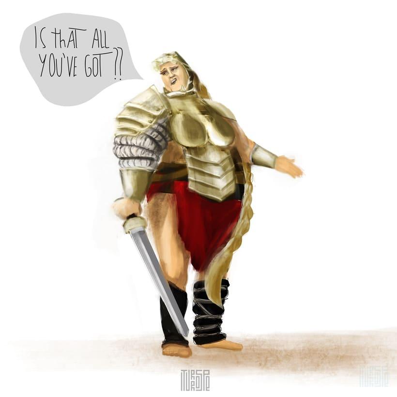 Gladiatrix 0