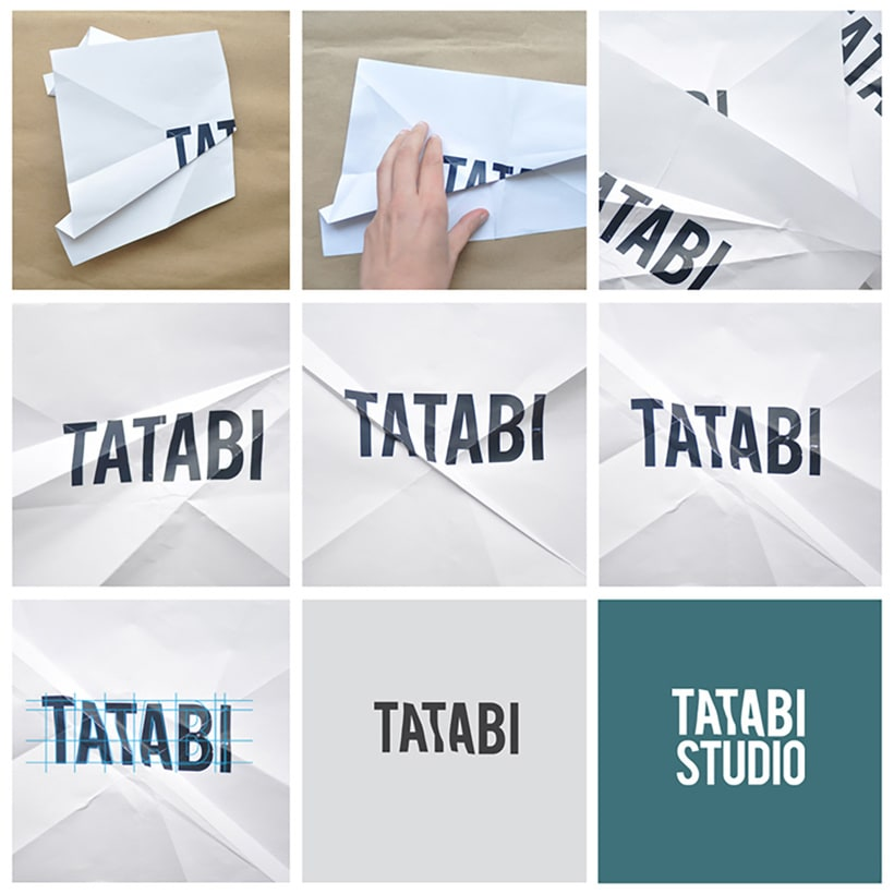 Tatabi Studio, identidad visual heartmade 1