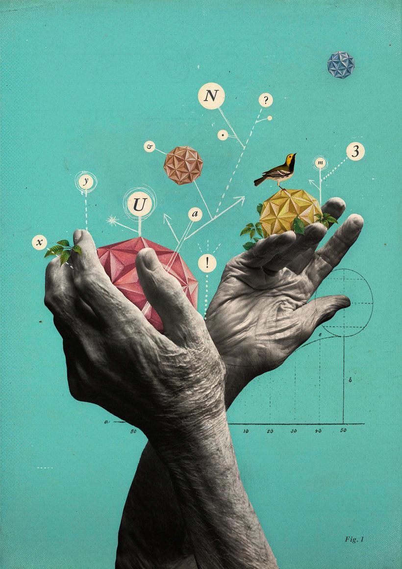 Bucear en el mundo del collage de la mano de Gabriela Sánchez 1