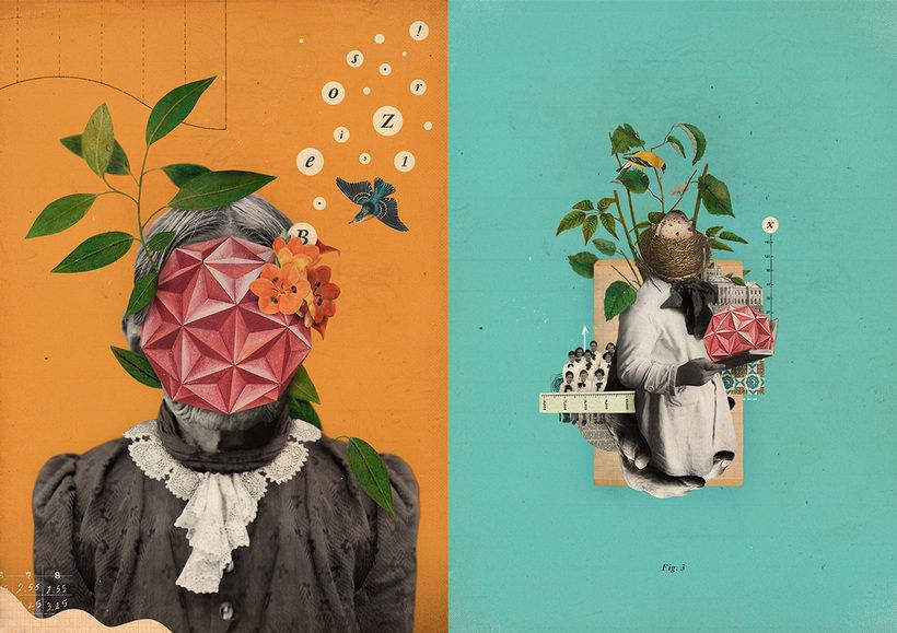 Bucear en el mundo del collage de la mano de Gabriela Sánchez 4