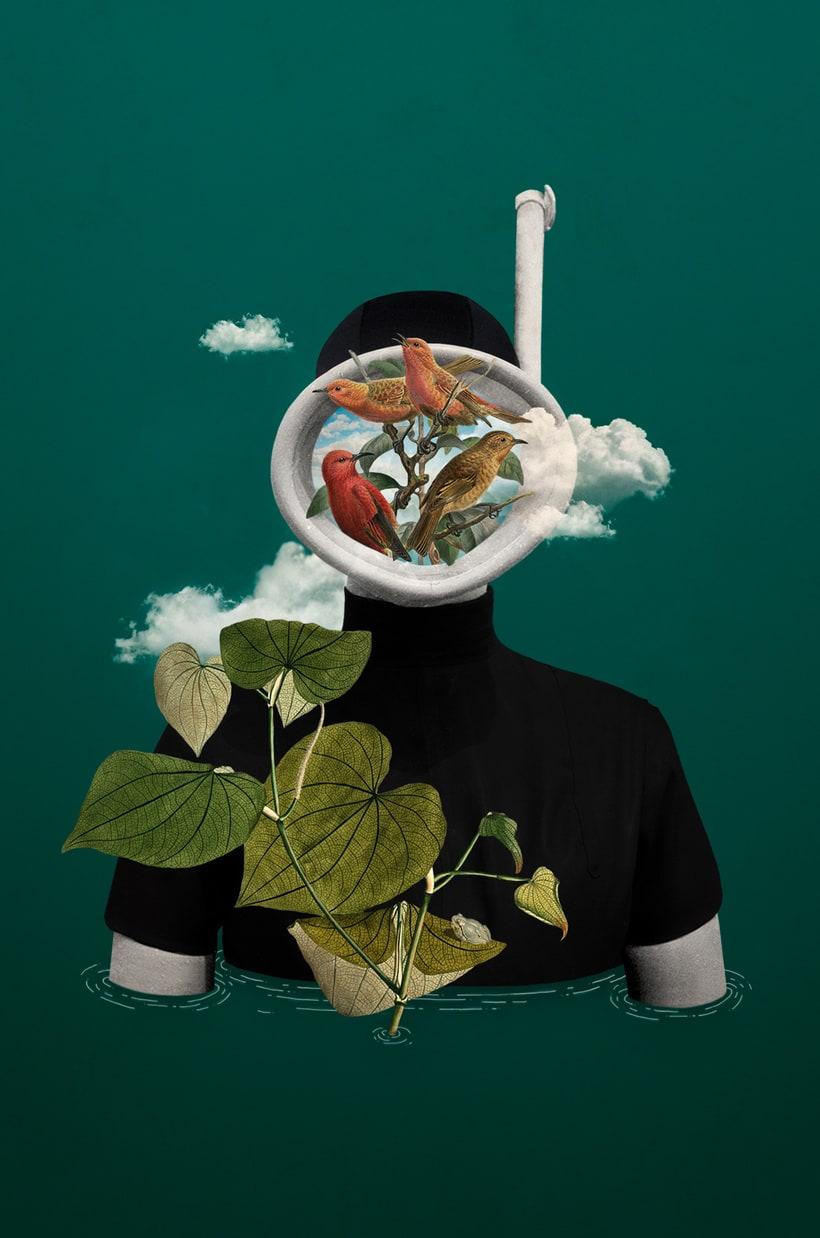 Bucear en el mundo del collage de la mano de Gabriela Sánchez 6