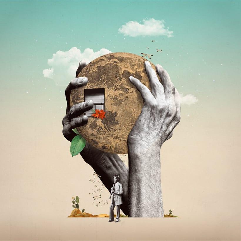 Bucear en el mundo del collage de la mano de Gabriela Sánchez 11