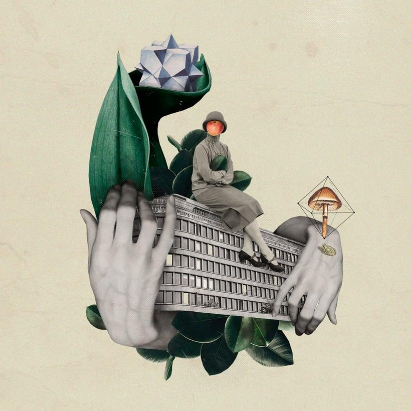 Bucear en el mundo del collage de la mano de Gabriela Sánchez 14