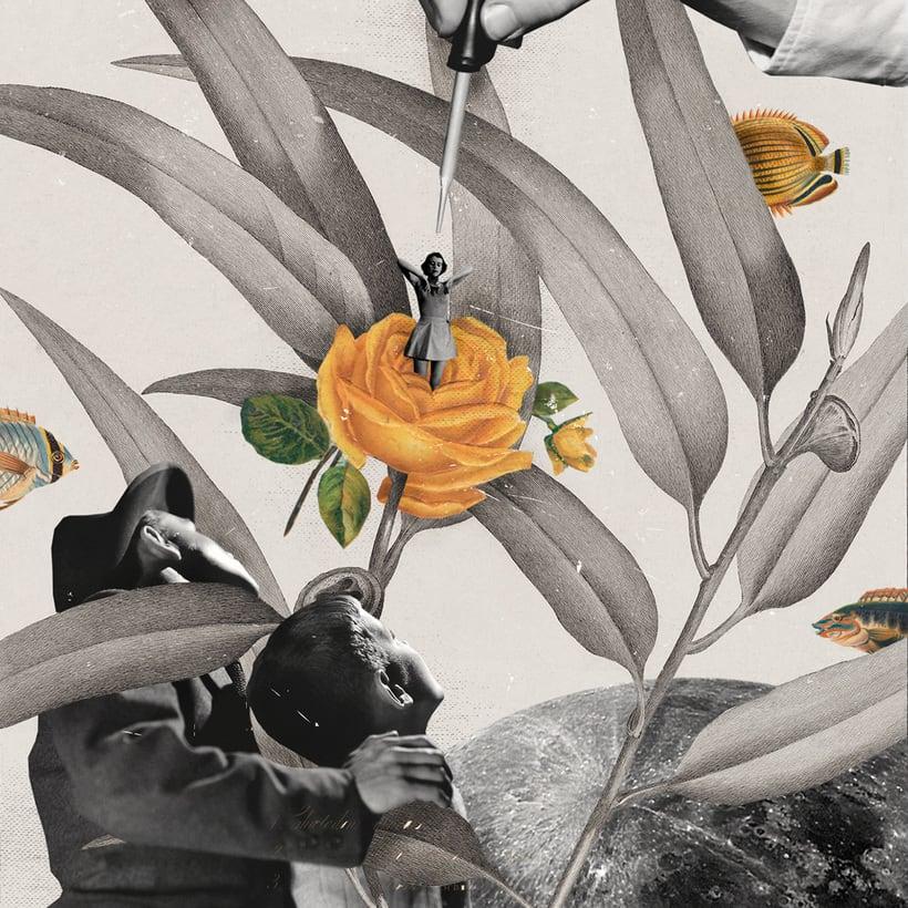 Bucear en el mundo del collage de la mano de Gabriela Sánchez 16