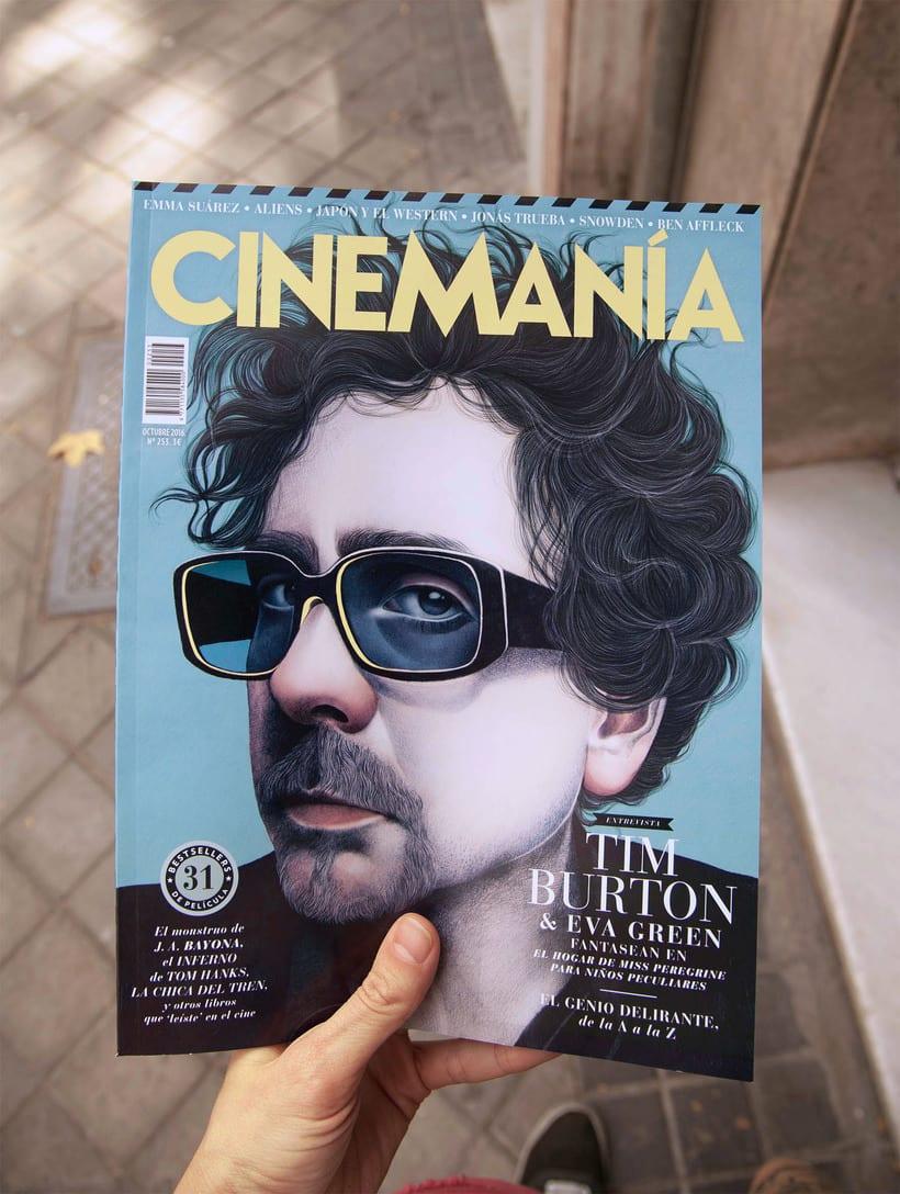 Portada CINEMANÍA Octubre 2016 2