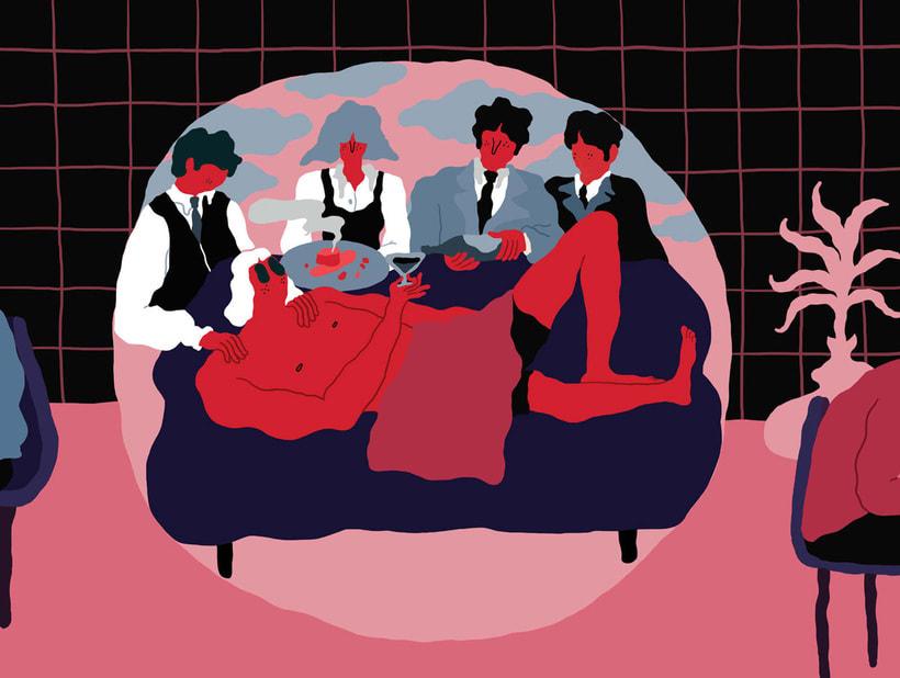 Jose Méndez: ilustración, gastronomía y contracultura 6