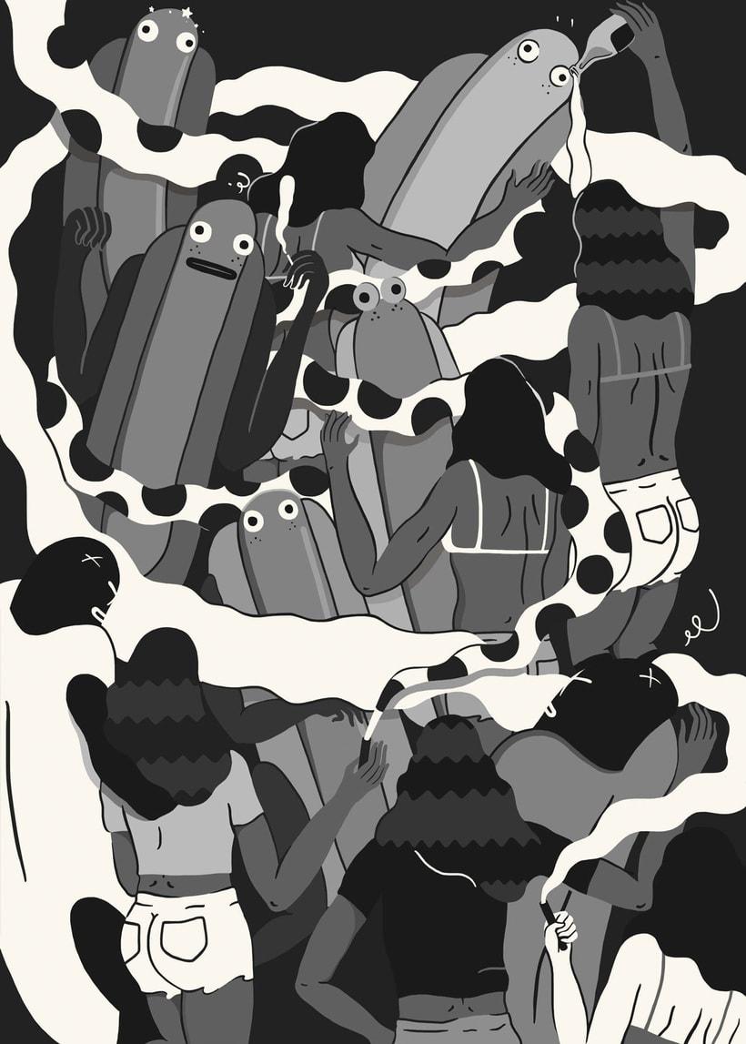 Jose Méndez: ilustración, gastronomía y contracultura 9