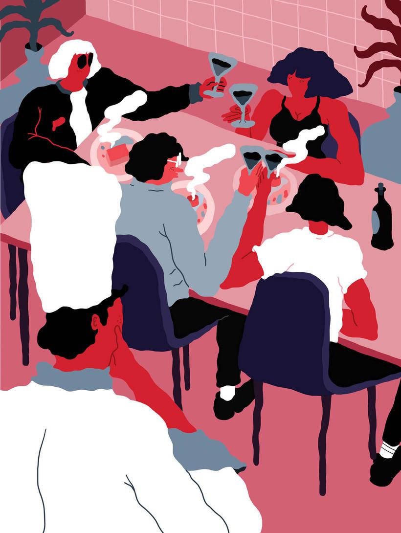 Jose Méndez: ilustración, gastronomía y contracultura 19