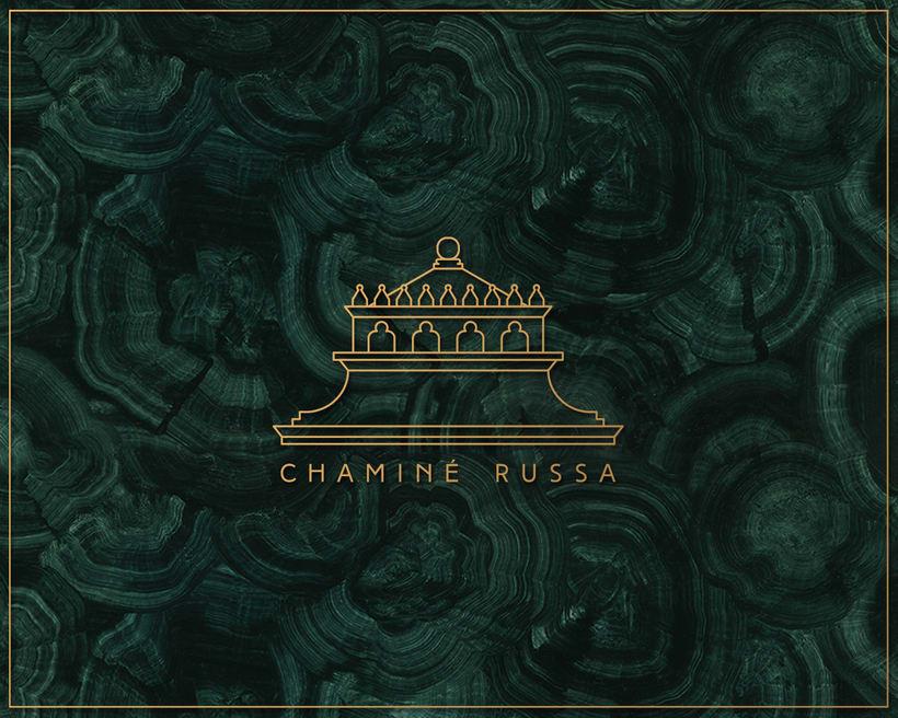 Chaminé Russa - Branding 1