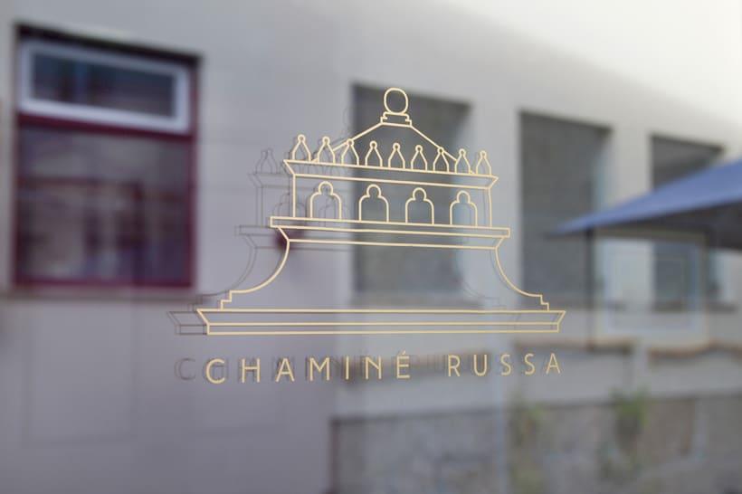 Chaminé Russa - Branding 4