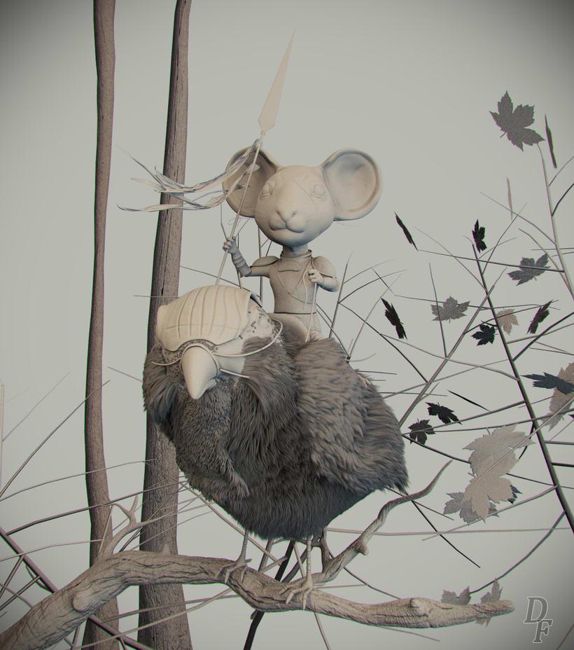 Sparrow rider (Concept by Even Amundsen) 0