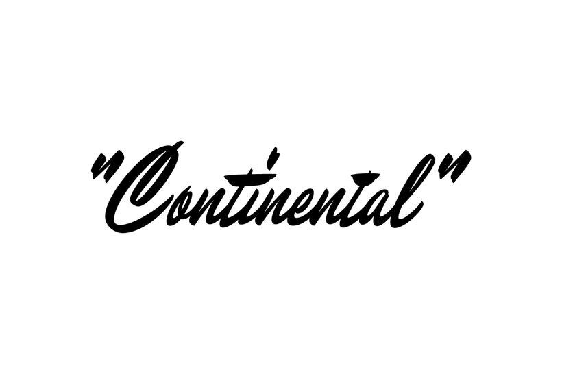 Continental Script 0
