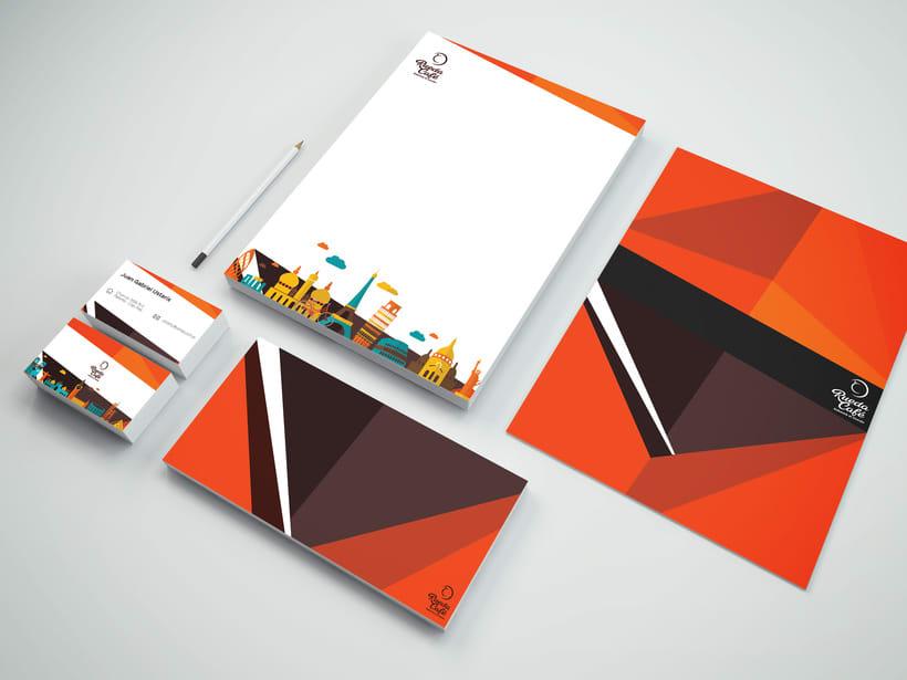 Branding - Graphic Design - Illustration - Menu Card -1