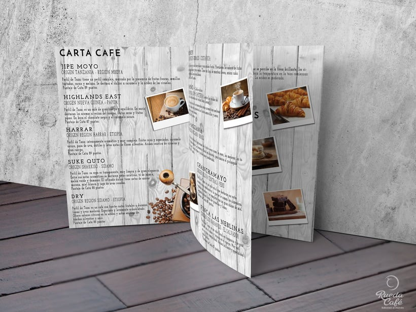 Branding - Graphic Design - Illustration - Menu Card 0