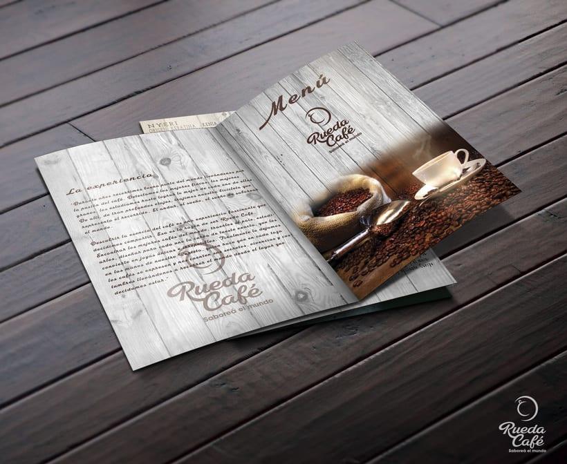 Branding - Graphic Design - Illustration - Menu Card 1