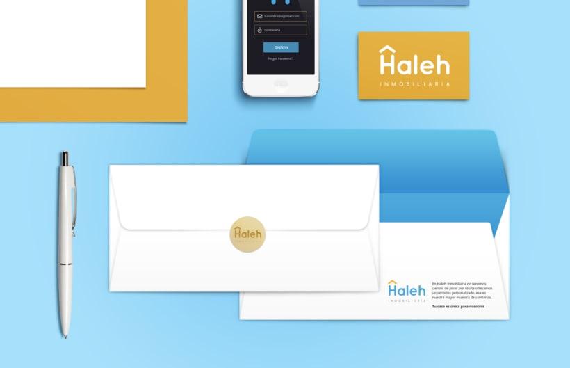 Imagen visual y web Haleh Inmobiliaria 6