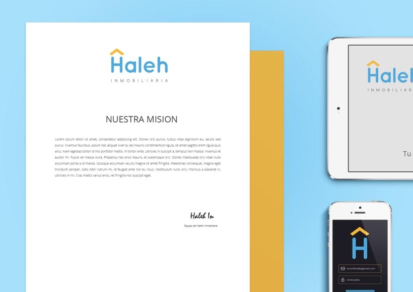 Imagen visual y web Haleh Inmobiliaria 7