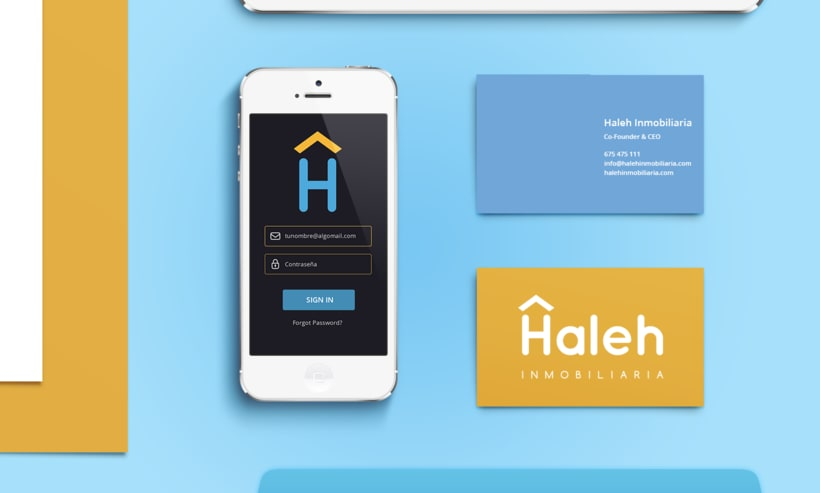 Imagen visual y web Haleh Inmobiliaria 8