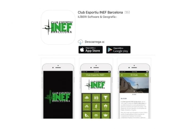Club Esportiu INEF Barcelona App - 2016 -1