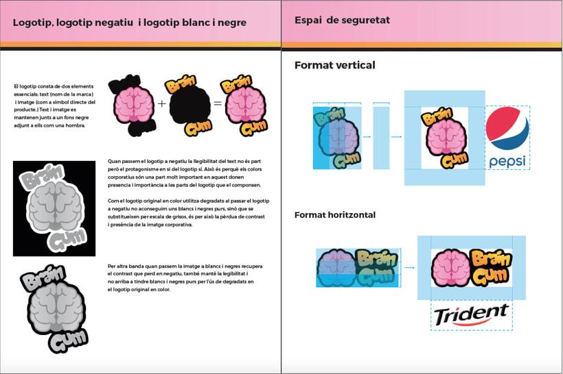 Brain Gum - Imagen Corporativa 0